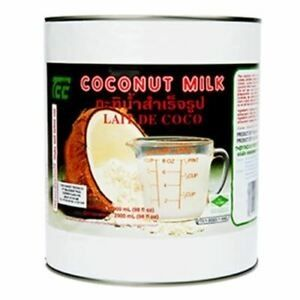 COCONUT MILK TCC x 3lt (6)