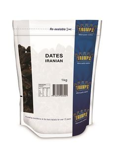DATES PITTED IRANIAN TRUMPS x 1kg (10)