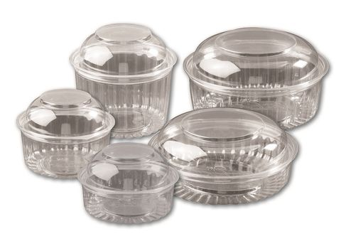 ILIP CLEAR RECT CONT HINGED LID 500ml x 450