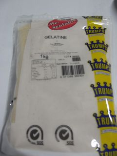 GELATINE GROUND TRUMPS x 1kg (10)