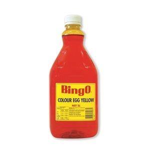 EGG YELLOW COLOUR BINGO x 2lt
