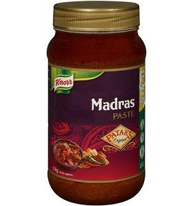 MADRAS CURRY PASTE KNORR PATAKS x 1.1lt (4)