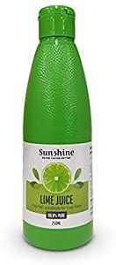 LIME JUICE SUNSHINE x 300ml (12)