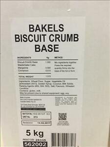 BISCUIT BASE BAKELS x 5kg