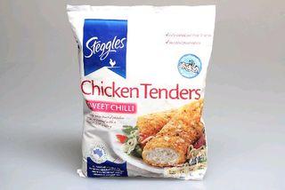STEGGLES SWEET CHILLI CHICKEN TENDERS x 1kg (6)