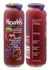 NOAHS RED SMOOTHIE (PINK BOX) 12x260ml