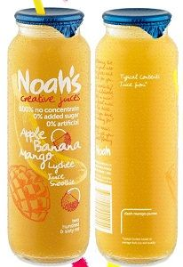 NOAHS YELLOW SMOOTHIE 12x260ml