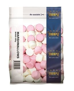 MARSHMALLOWS PINK WHITE TRUMPS x 500gr (10)