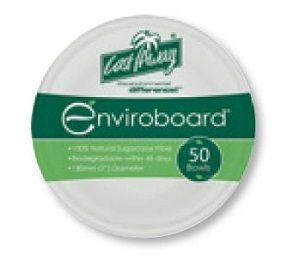 ENVIROBOARD BOWL LARGE CAWAY x 50 (10)