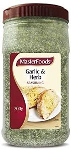 GARLIC HERB SEASONING MASTERFOODS x 700g (6)