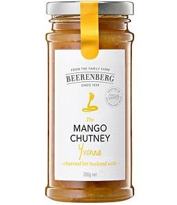 MANGO CHUTNEY BEERENBERG 280g x 8