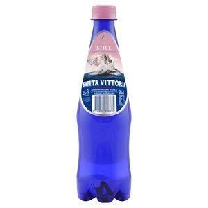 500ml STILL WATER SANTA VITTORIA BLUE PET BTL PINK x 12