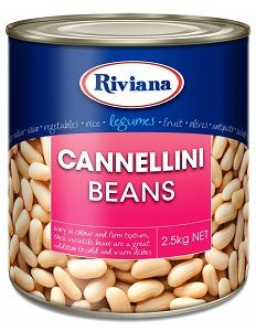 CANNELLINI BEANS RIVIANA x 2.5kg (6)