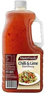 CHILLI LIME DRESSING MASTERFOODS x 3lt (4)