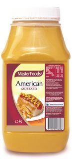 AMERICAN MUSTARD MFOOD x 2.5kg (6)