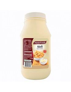 ROAST GARLIC AIOLI DRESSING MFOOD x 2.2kg (6)