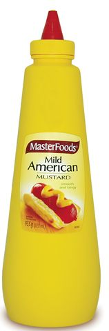 SQUEEZY AMERICAN MUSTARD MFOOD x 920ml (6)