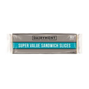 DAIRYMONT SUPERVALUE SLICED CHEESE x 1.5kg (8)
