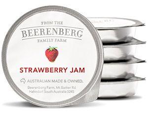 BEERENBERG STRAWBERRY JAM PORTION 14g x 48 (6)