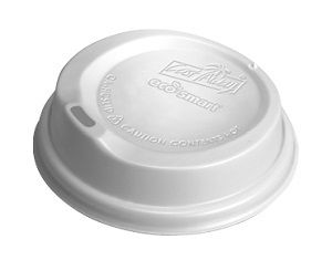 8,12-16oz WHITE COFFEE ECO CUP LID CAWAY x 100 (10)