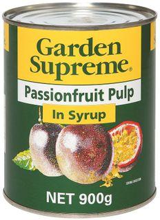 PASSIONFRUIT PULP SUPREME GFREE x 900g (12)