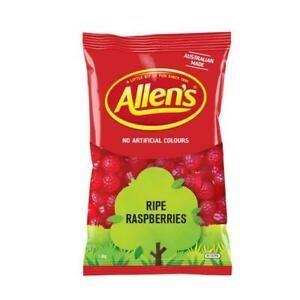 ALLENS RIPE RASPBERRIES x 1.3kg (6)