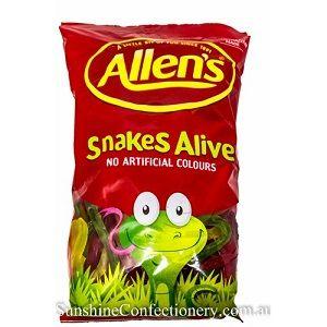 ALLENS SNAKES ALIVE x 1.3kg (6)