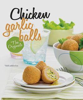 SPECIALISED GARLIC CHICKEN BALLS 40g x 1kg (4)