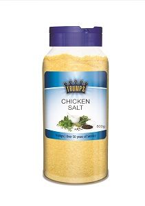 TRUMPS CHICKEN SALT CANNISTER x 800g (6)