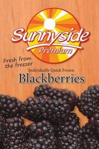 FROZEN BLACKBERRIES SUNNYSIDE x 1kg (12)