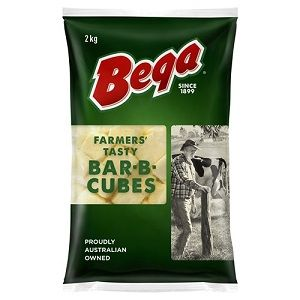 CUBED CHEESE GFREE BEGA x 2kg (6)