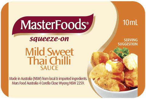 SQZ SWEET THAI CHILLI PC MFOOD x 100