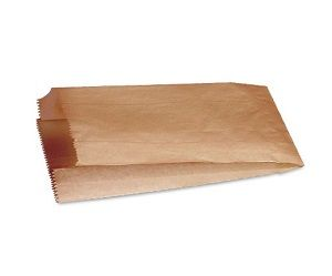 BREAD BAG #6 BROWN FLAT SAVILL x 250