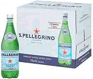 SPARKLING WATER SAN PELLEGRINO GLASS 1lt x 12