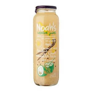 NOAHS APPLE COCONUT BANANA CHAI JUICE 12x260ml