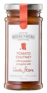 BEERENBERG AUST TOMATO CHUTNEY x 260g (8)