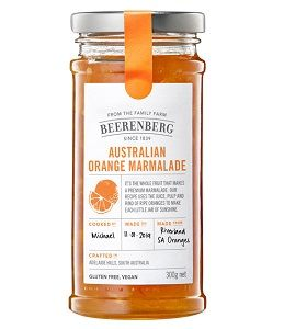 BEERENBERG ORANGE MARMALADE x 300g (8)