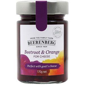 BEERENBERG BEETROOT ORANGE FOR CHEESE x 170g (8)