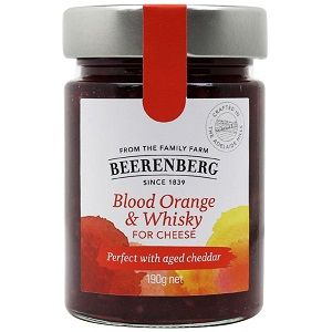 BEERENBERG BLOOD ORANGE WHISKEY FOR CHEESE x 190g (8)