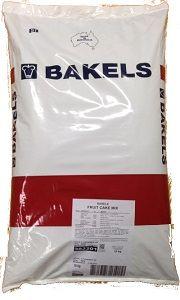 BAKELS LIGHT FRUIT CAKE MIX x 15kg
