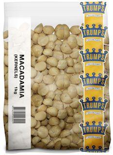 MACADAMIA NUTS WHOLE TRUMPS x 1kg (10)