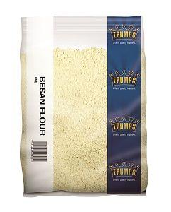 BESAN FLOUR (CHICKPEA) TRUMPS x 1kg (10)