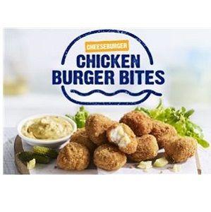 BURGER BITES CHICKEN STEGGLES x 1kg (6)