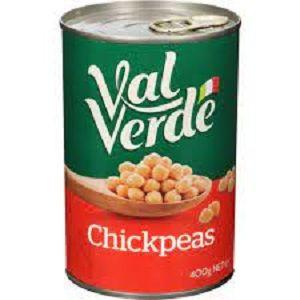 CHICK PEAS VAL VERDE x 400g (12)