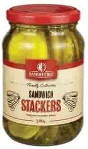 SANDWICH STACKERS SANDHURST x 2kg (6)