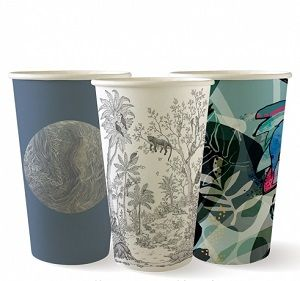 16oz ART SERIES BIO CUP DOUBLE WALL x 40 (15)