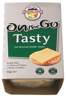 TASTY CHEESE ON THE GO 7 x 50g