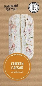 CHICKEN CAESAR SALAD SANDWICH ED CAFE x 12