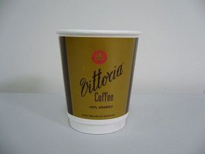 8oz VITTORIA DOUBLE WALL CUP x 500