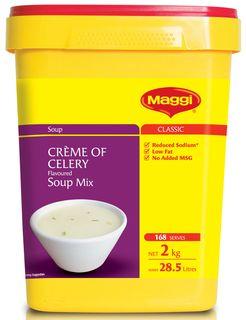MAGGI CREME OF CELERY SOUP MIX x 2kg (6)